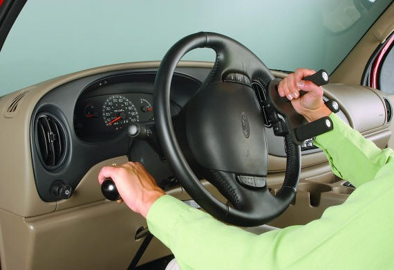 The driving aids provides advantages for the disabled drivers