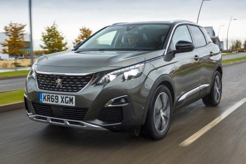 How do I set up CarPlay on my Peugeot 3008?